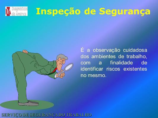 INSPEÇÃO DE SEGURANÇA